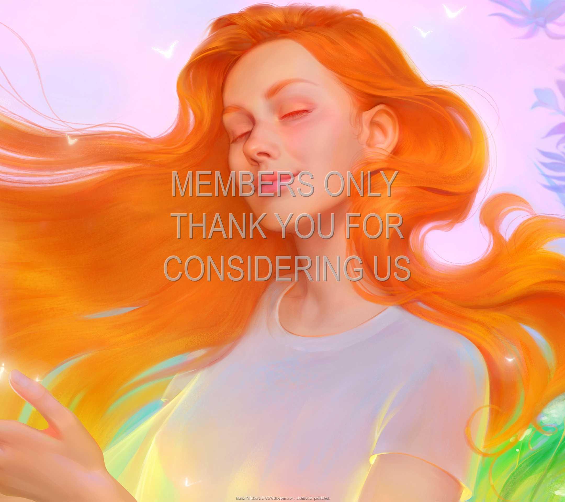 Maria Poliakova 1080p Horizontal Mobile fond d'écran 03