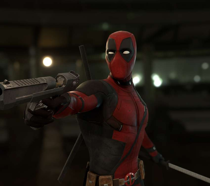 Deadpool Mobile Horizontal fond d'écran