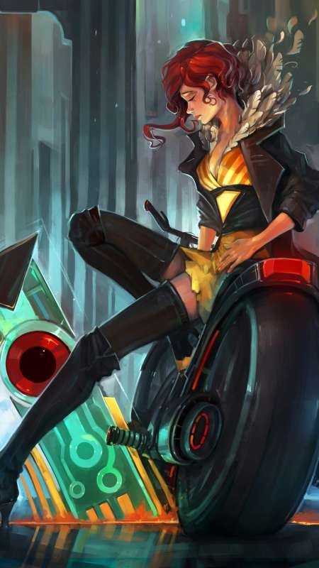 Transistor fan art Mobile Vertical fond d'écran