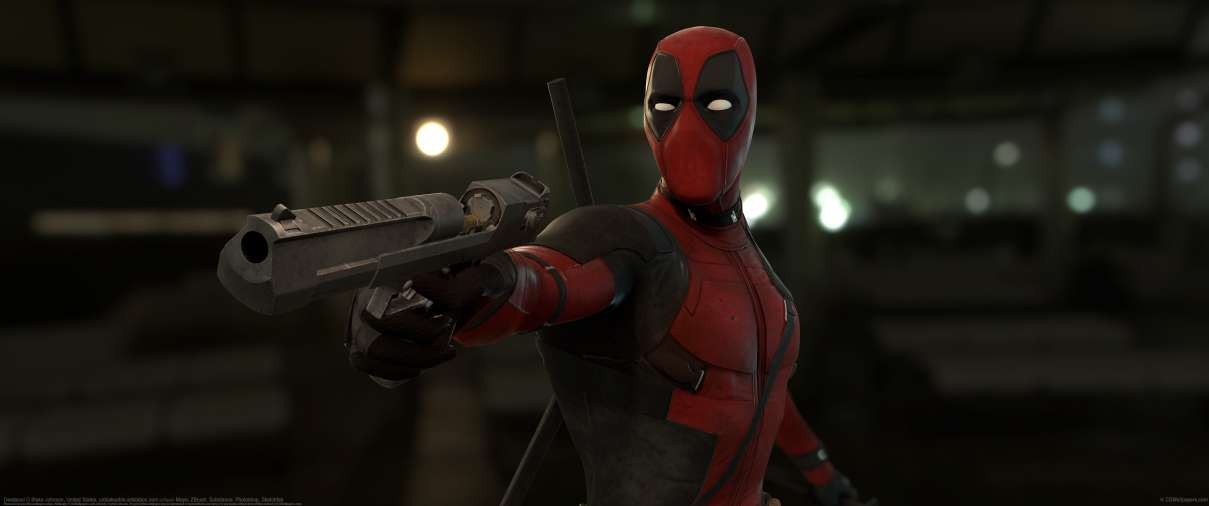 Deadpool ultralarge fond d'écran