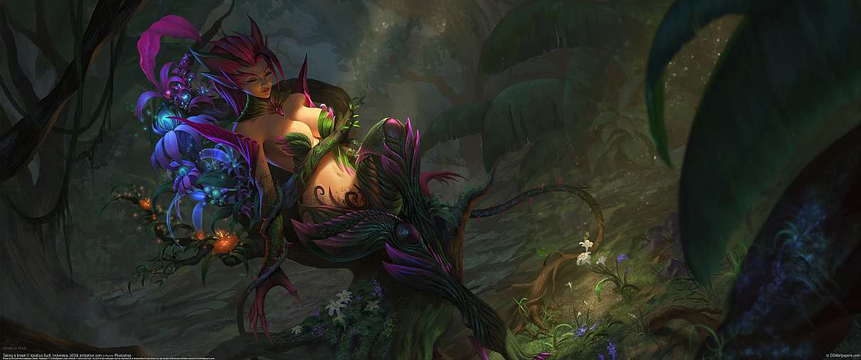 Zyra - League of Legends fan art ultralarge fond d'écran