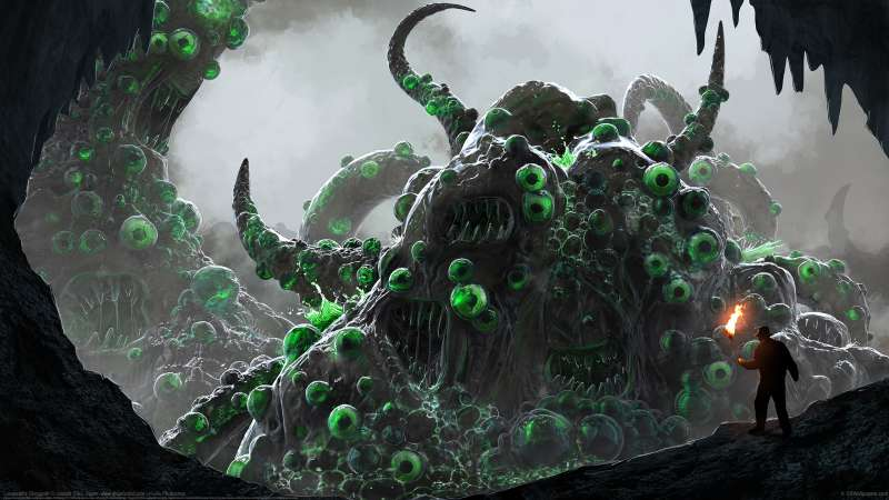 Lovecraft's Shoggoth fond d'écran