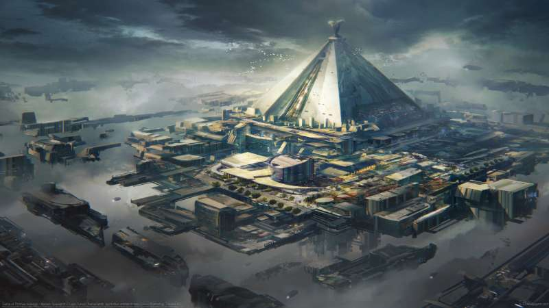 Game of Thrones redesign - Mereen Spaceport fond d'écran